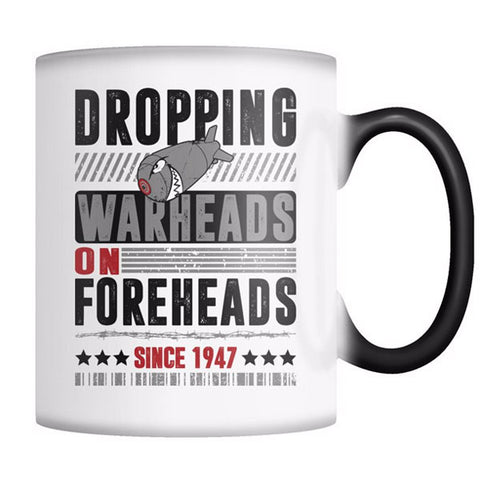 WARHEADS ON FOREHEADS MUG