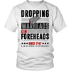 WARHEADS ON FOREHEADS TEE