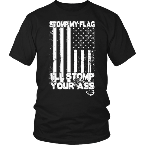Stomp My Flag, I'll Stomp Your Ass