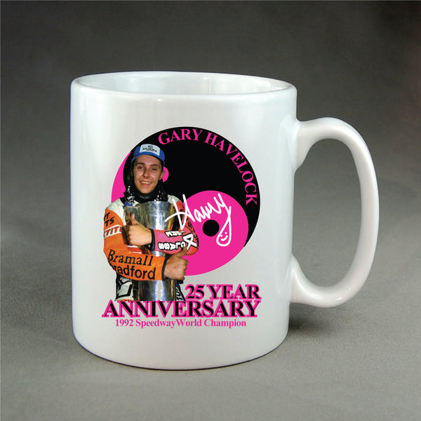 Gary Havelock - 25 Years Anniversary Mug
