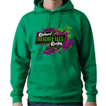 Richard Andrews Large Print Hoodie