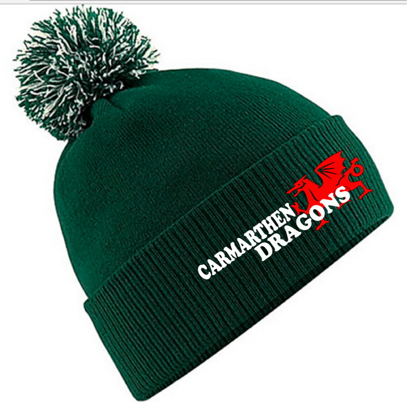 Carmarthen Dragons Bobble Beanie