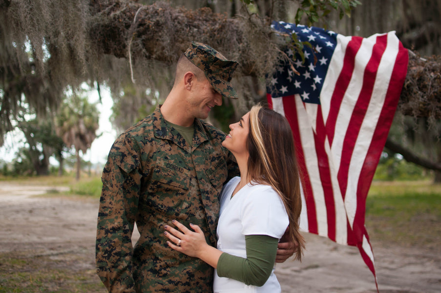 How to Navigate a Short Engagement When Your Fiancé is Deployed
