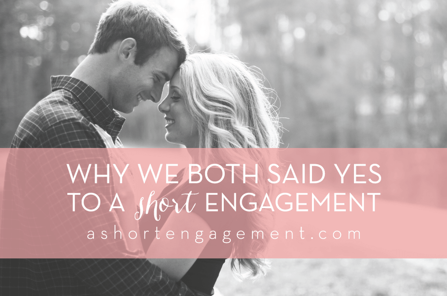 Why We Planned our Wedding in 4.5 Months (and could have done it even quicker)
