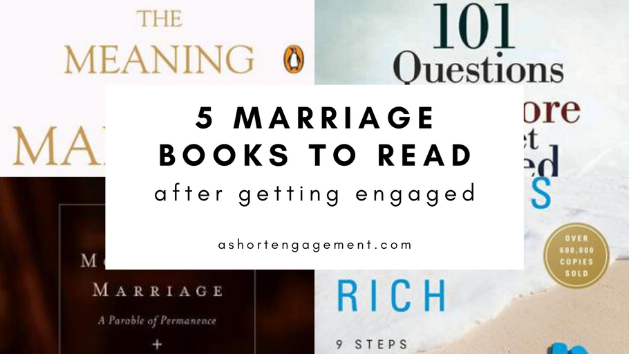 "Books to Read Before You Say ""I do"""