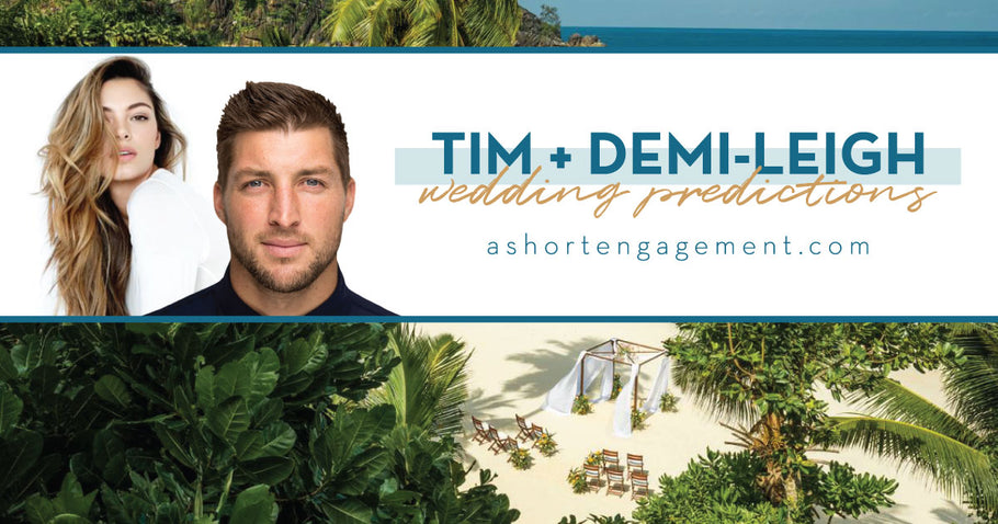 Why I think Tim Tebow and Demi-Leigh Nel-Peters Will Have a Short Engagement + Wedding Predictions