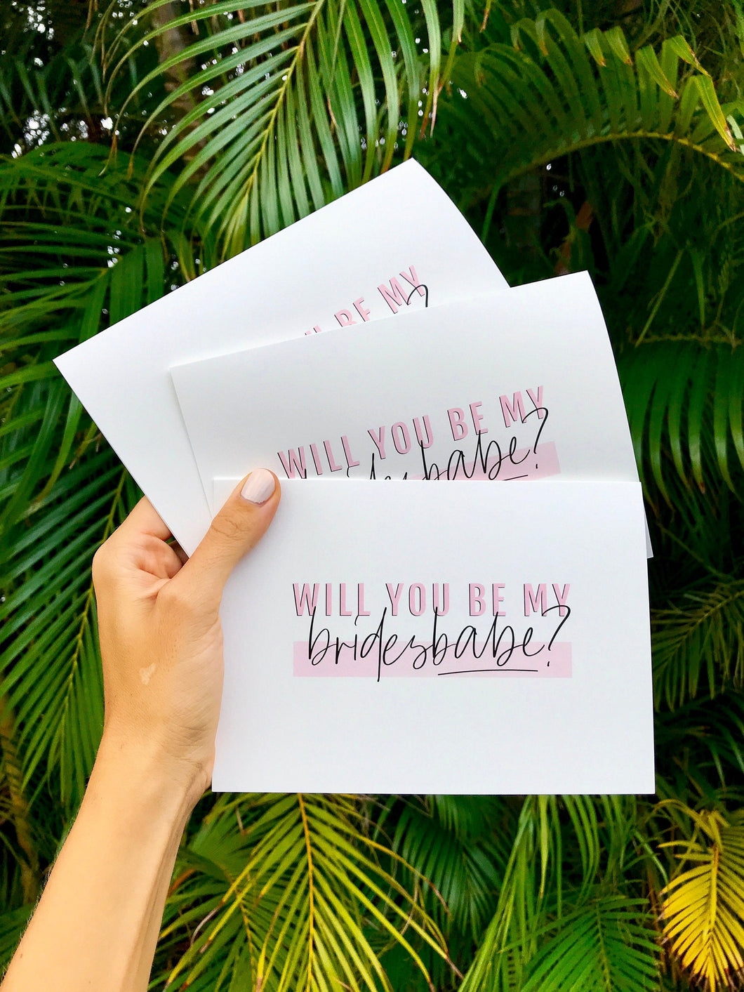 Bridesbabe Proposal Cards