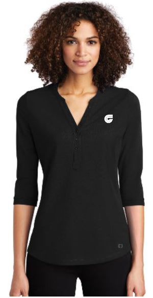 Ladies Jewel Henley SMLOG104