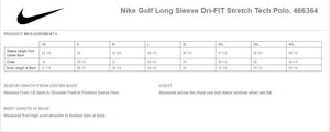 Nike Long Sleeve Dri-Fit Tech Polo - SM466364