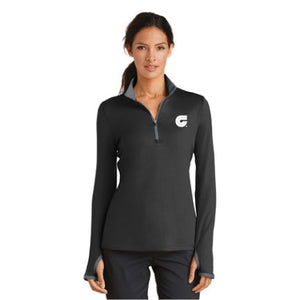 Ladies Nike Dri-Fit 1/4 Zip Pullover - SM779796