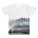 Ipanema Beach White Paint Drip T-Shirt - Go To Holiday Wear