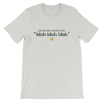 Not All Who Wander (Blah Blah) T-Shirt