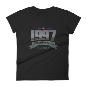 Born in 1997. 21 Years of Being an Angel T-Shirt