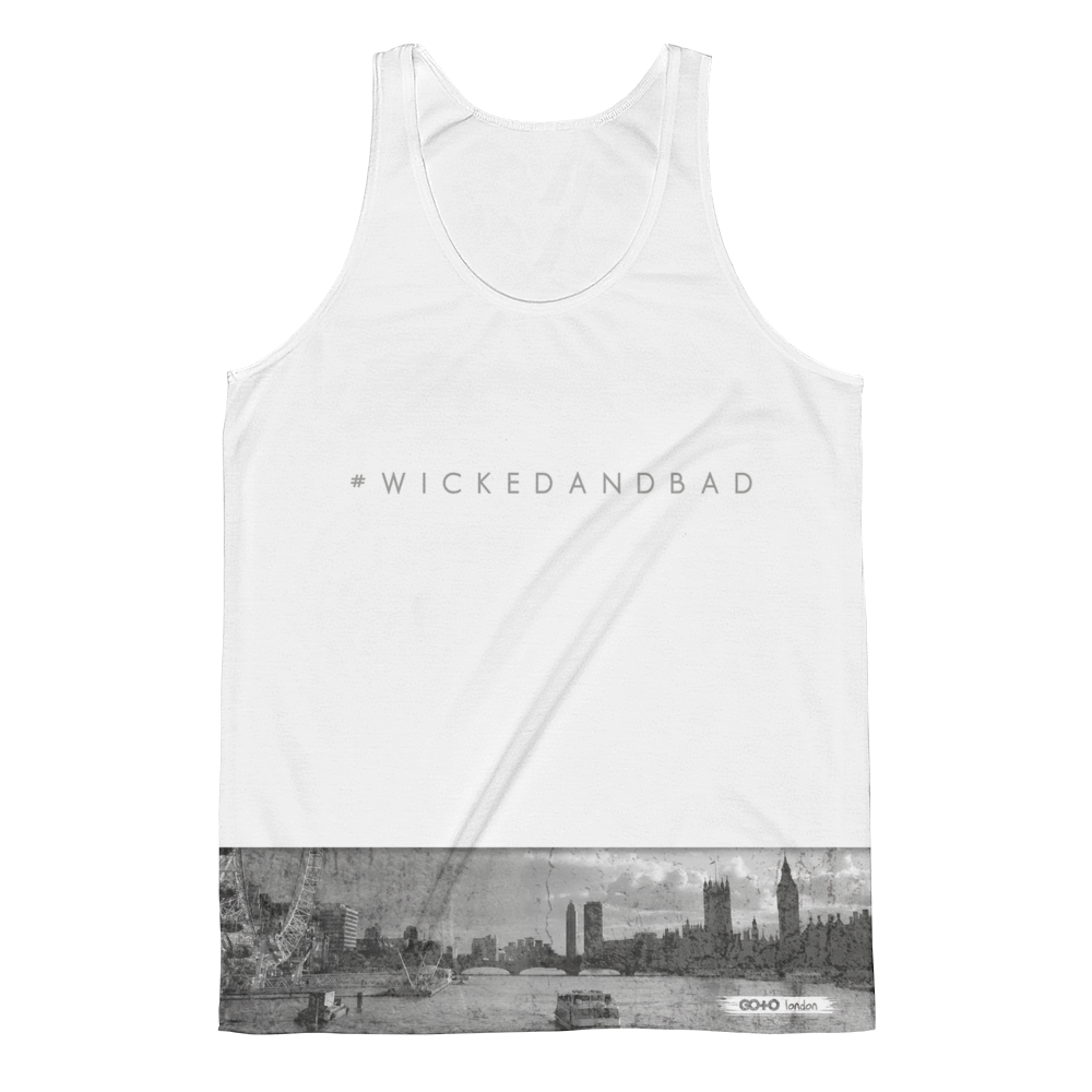Wicked and Bad Vest - Go To Holiday Wear