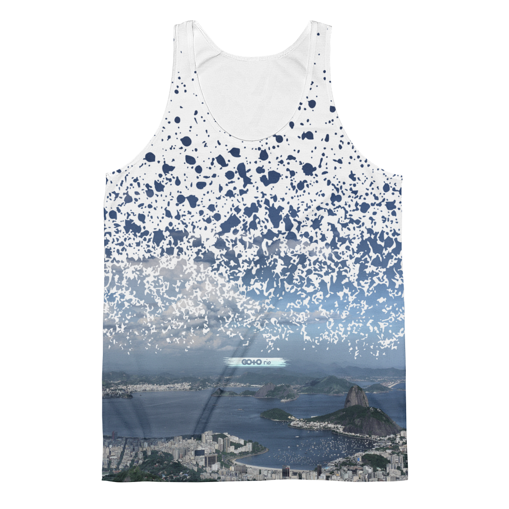 Guanabara Bay Paint Splatter Vest