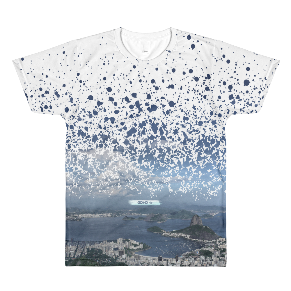 Guanabara Bay Paint Splatter T-Shirt
