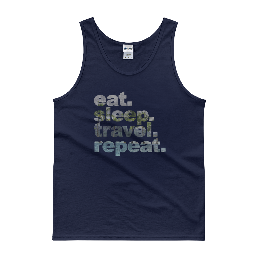 Eat. Sleep. Travel. Repeat. Tank