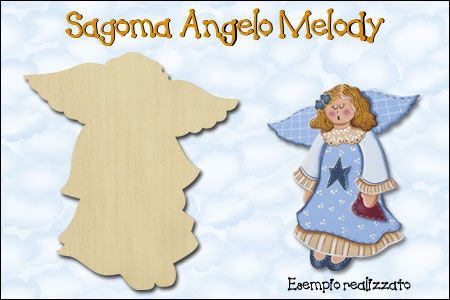 Sagoma Country Painting - Angelo Melody - La Bottega delle Idee - Rimini