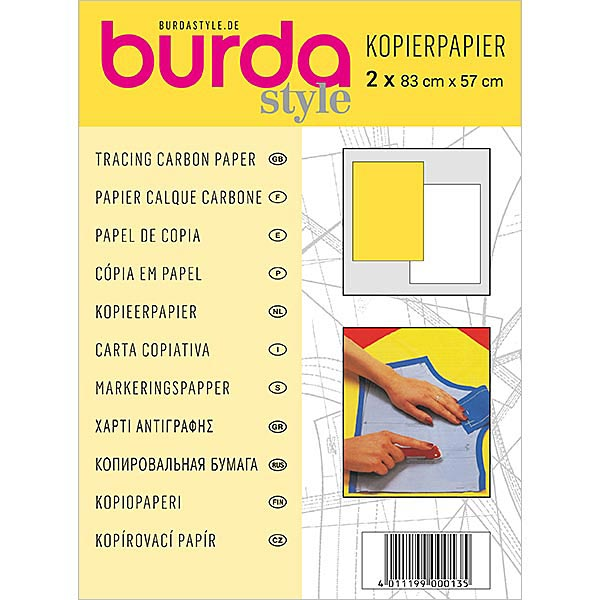 Burda - Carta copiativa per tessuto