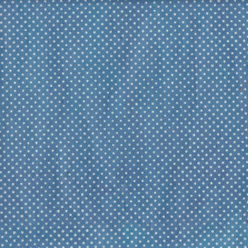 Pois - Lokta stampata Light Blue/White (018)