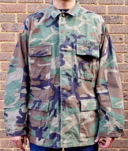 US Army Light Combat Jacket Size L Regular