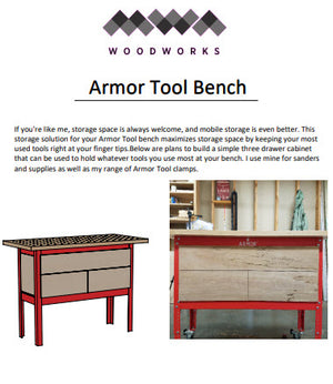 Plans - Armor Tool Bench Storage