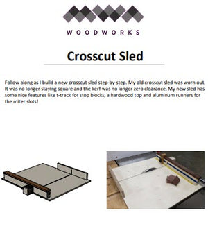 Plans - Crosscut Sled