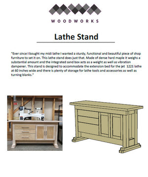 Plans - Lathe Stand