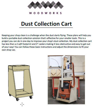 Plans - Dust Collection Cart
