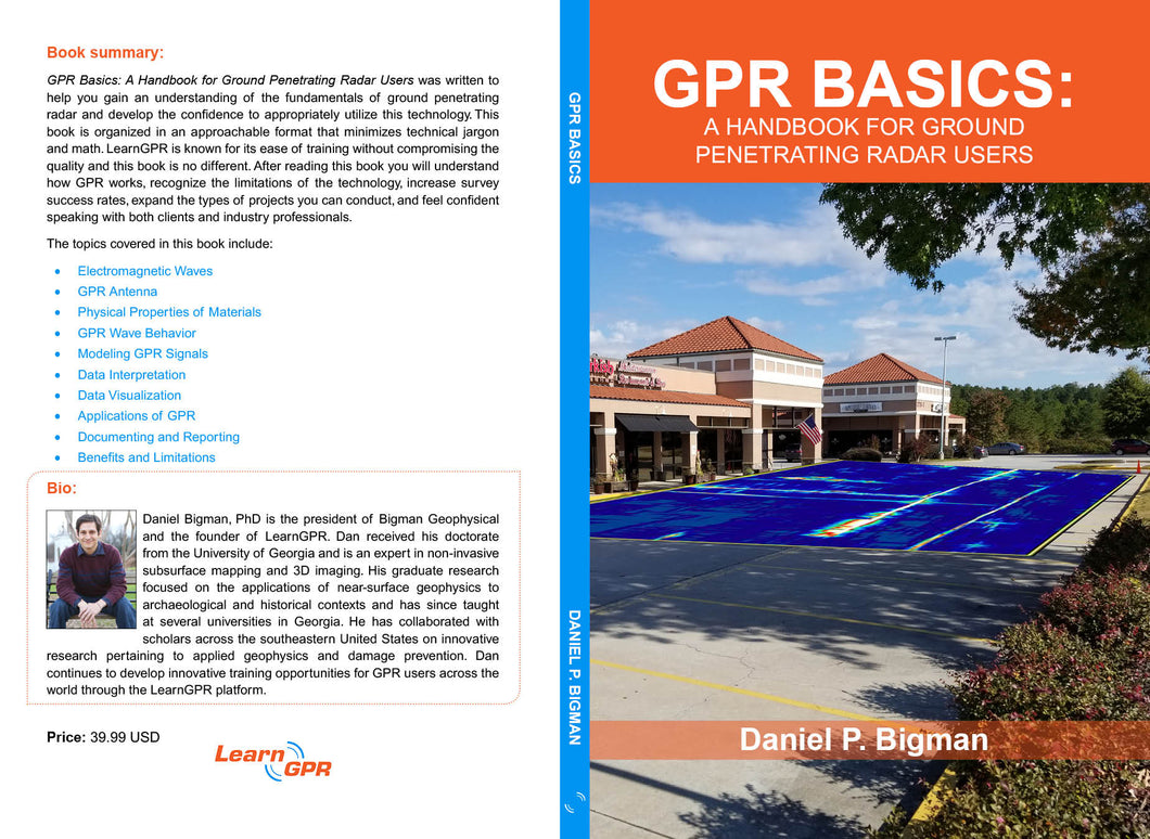 GPR BASICS: A Handbook For Ground Penetrating Radar Users | EBOOK