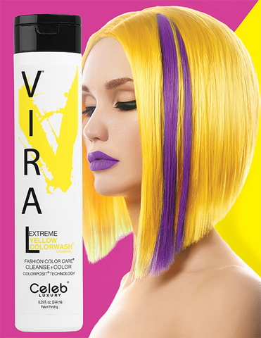 Celeb Luxury Viral Colourwash Shampoo - Extreme Yellow