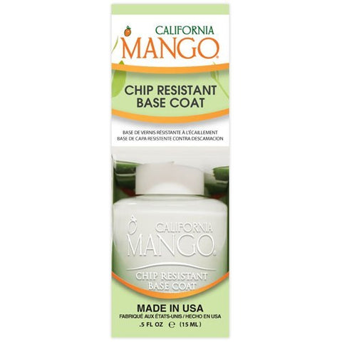 California Mango Chip Resistant Base Coat 15ml