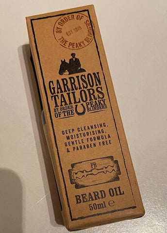 Peaky Blinders Beard Oil