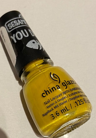 China Glaze Sesame Street Nail Colour - Beak on Fleek Mini