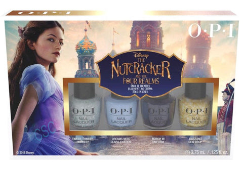 OPI 2018 Disney Nutcracker Mini Nail Polish Gift Set