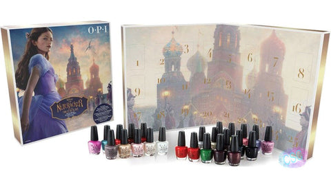 OPI 2018 Disney Nutcracker Nail Polish Advent Calendar