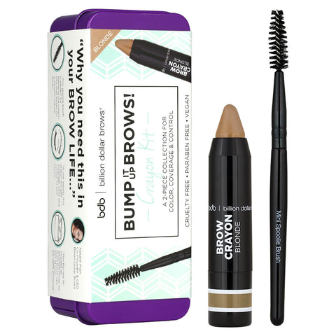 Billion Dollar Brows Brow Crayon Set - Blonde