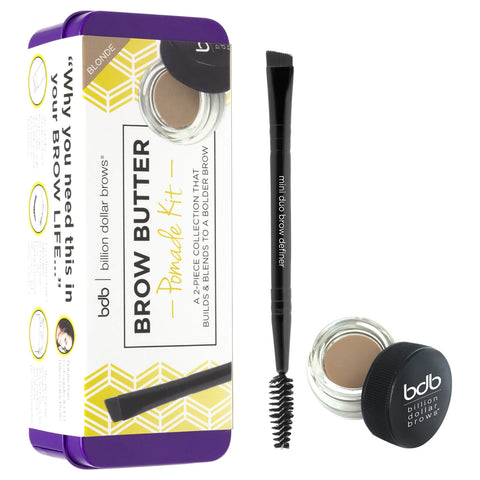 Billion Dollar Brows Brow Butter Pomade Set - Blonde