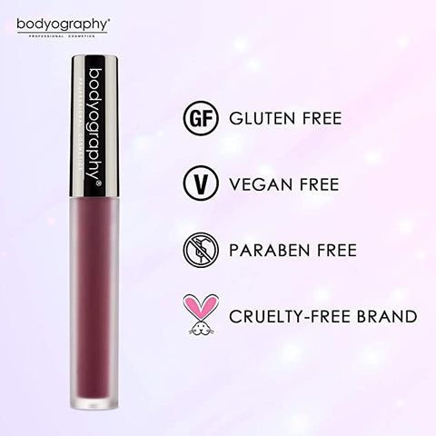 Bodyography Liquid Lip Colour - Obsidian