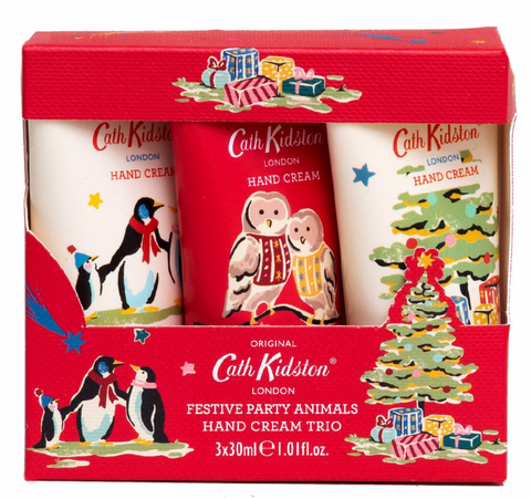 Cath Kidston Festive Animal Hand Cream Gift Set