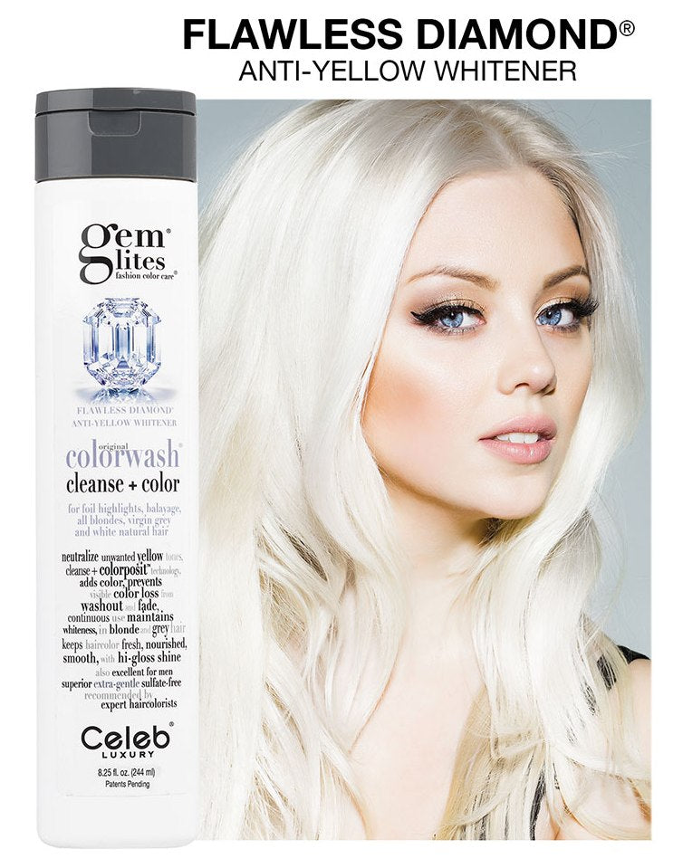 Celeb Luxury Gem Lites Colourwash Shampoo Flawless Diamond Candyshopcosmetics