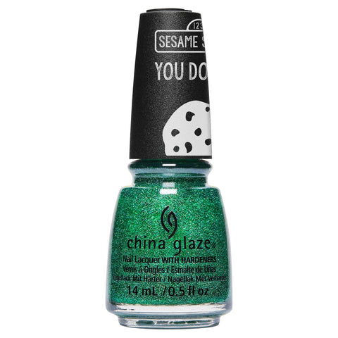 China Glaze Sesame Street Nail Colour - Free to be Sesame