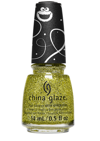 China Glaze Sesame Street Christmas Nail Colour - Cele-Bert