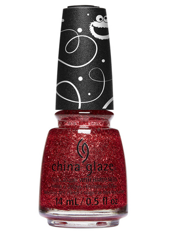 China Glaze Sesame Street Christmas Nail Colour - On The Nice List