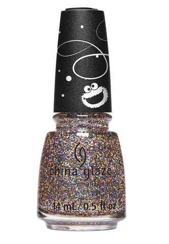 China Glaze Sesame Street Christmas Nail Colour - This is My Street
