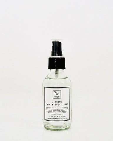 Daylesford Apothecary Citrine Face and Body Spray