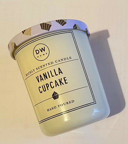 DW Home Vanilla Cupcake Scented Candle - Mini
