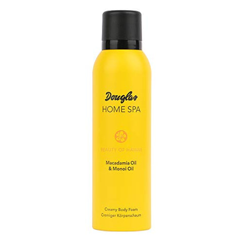 Douglas Creamy Body Foam - Macadamia and Monoi Oil