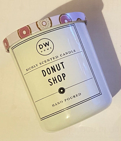 DW Home Donut Shop Scented Candle - Mini