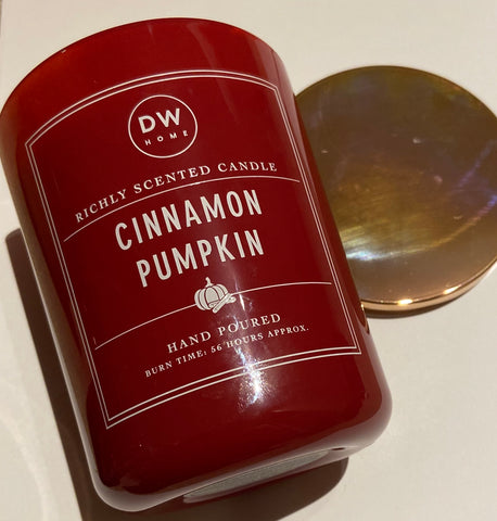 DW Home Cinnamon Pumpkin Double Wick Candle